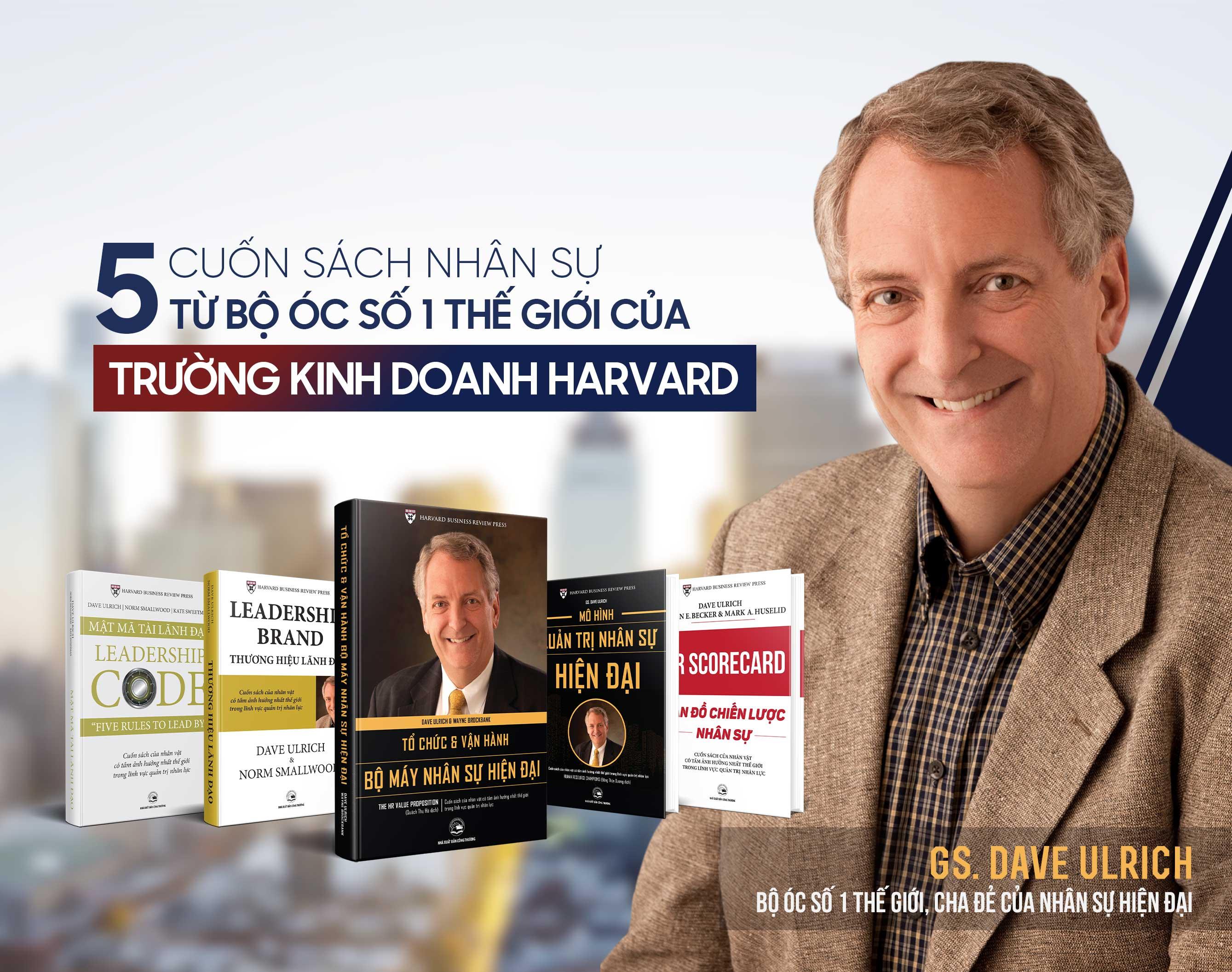 Bộ 5 cuốn sách quản trị nhân sự hàng đầu thế giới của trường kinh doanh Harvard
