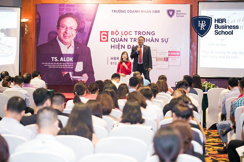 Các khóa học tại Trường doanh nhân HBR với nhiều chuyên gia, diễn giả hàng đầu trong nước và quốc tế.